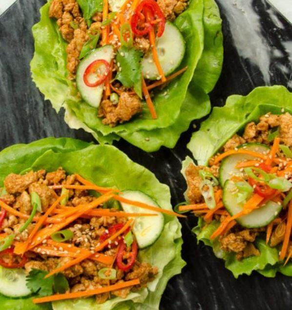 Asian Chicken Wraps – Slimming Features