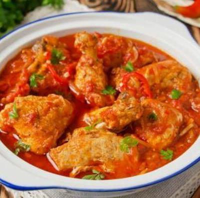 Spicy Chicken Creole for Weight Loss Recipe. Great also for health benefits